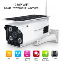 Low Power Solar Outdoor Wi-Fi IP Camera