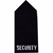 SECURITY EPAULETTE PAIR