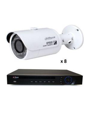 2MP 8 TUBE INDOOR OUTDOOR  DIY CCTV SECURITY CAMERA SYSTEM