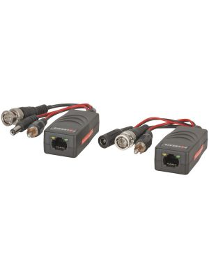 BNC/RCA/Power to Cat5e/6 AHD Video Balun Kit