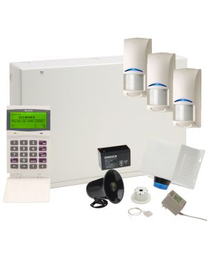 Bosch Solution 6000 Alarm Kit with 3x PIRs