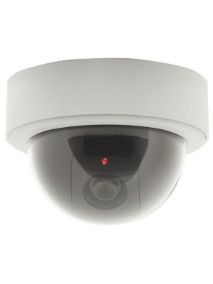 Dummy Dome Camera with Flashing LED