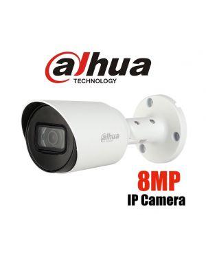 Dahua 8MP (4K) Starlight IP Bullet Fixed,ICR,WDR,IR 30m,IP67,POE (S)