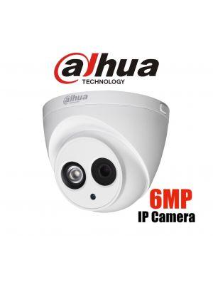 DaHua 6MP IR Eyeball (2.8mm) Network CCTV Camera (C)