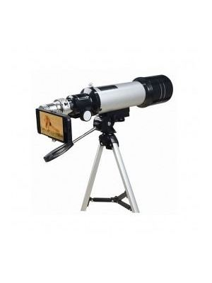 50X Telescope with Smartphone Viewing Attachment