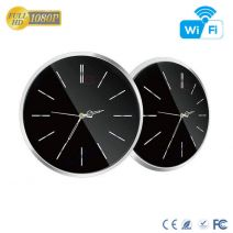 HD 1080P WiFi Wall Clock Hidden Camera with 90 Degree