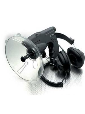 Parabolic Ear with Magnefied Viewer & Recorder