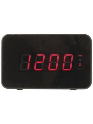 LCD Desk Top Clock With Hidden 720p Camera