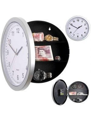 Secret Clock Hidden Wall Safe