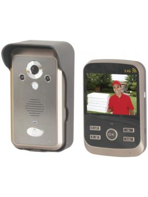 Digital Wireless Video Doorphone with Motion Detection