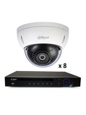 2MP 8 DOME INDOOR OUTDOOR  DIY CCTV SECURITY CAMERA SYSTEM