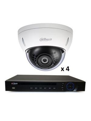 4MP 4 DOME INDOOR OUTDOOR  DIY CCTV SECURITY CAMERA SYSTEM