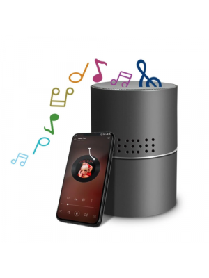 HD 330 Degree Stereo Bluetooth Speaker WiFi Hidden Camera