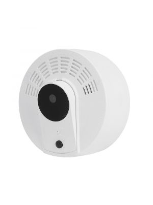2MP 1080P WIFI Smoke Detector Security Camera with P2P & Motion Detection Push