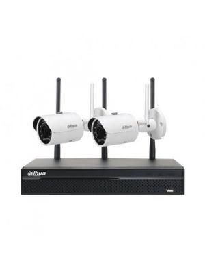 2MP 2 X 3MP BULLET IR WI-FI 4CH NVR  DIY CCTV SECURITY CAMERA SYSTEM